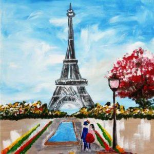 Paris Je t'aime @ Galerie Café Leidse Lente | Leiden | Zuid-Holland | Nederland