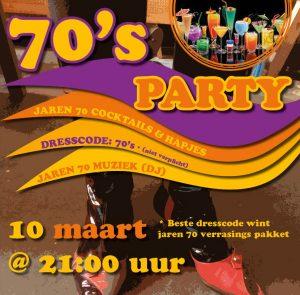 Themafeest Jaren 70 @ Galerie Café Leidse Lente | Leiden | Zuid-Holland | Nederland