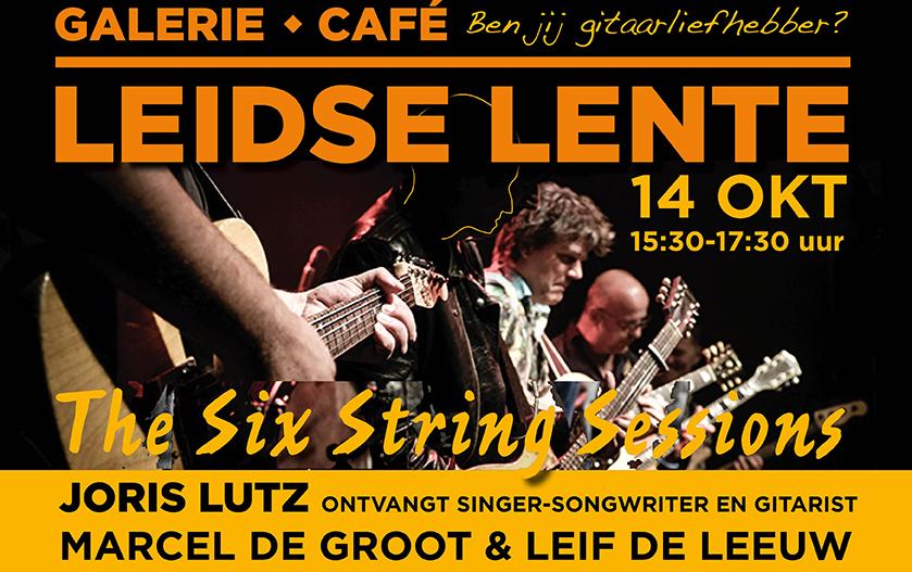 "Leidse Lente presenteert ""The Six String Sessions"" van Joris Lutz"