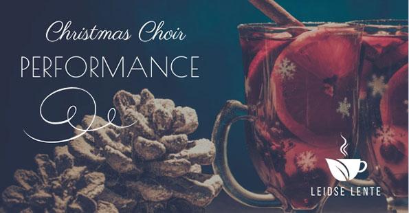 Christmas Choir verzorgt Kerstsfeer bij Leidse Lente