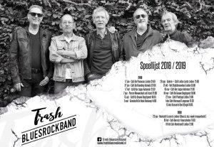 Trash Bluesrockband timmert weer lekker aan de weg!