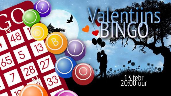 Valentijnsbingo: ongelukkig in de liefde? Dan maar gelukkig in het spel!