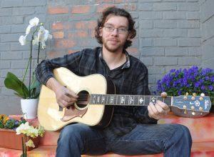 Vlaamse singer-songwriter Wim de Meester bij Leidse Lente