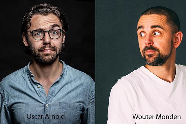 Cabaret op zondagmiddag met de twee topcabaretiers Oscar Arnold en Wouter Monden!