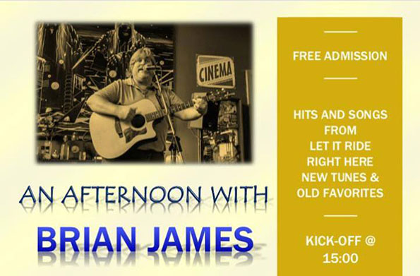 An afternoon with Brian James