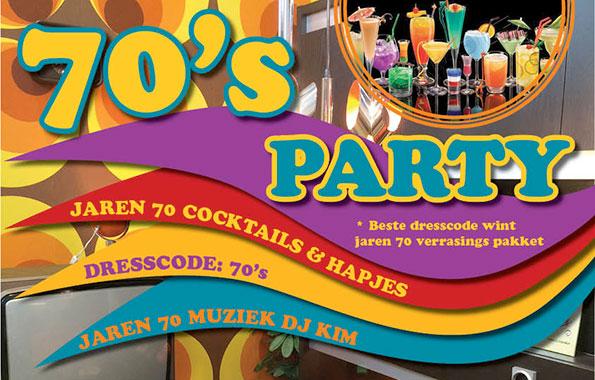 De grote Leidse Lente 70's Party!