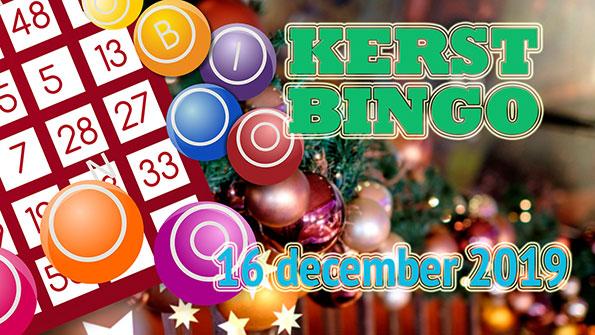 Kerstballen en bingoballen tijdens de Kerstbingo