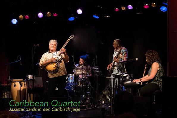 Caribisch swingend het jaar uit met Caribbean Quartet!